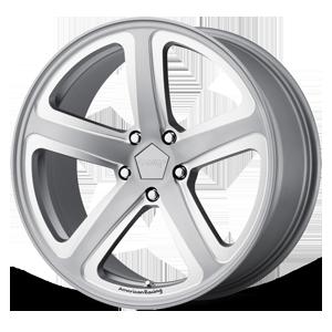 American Racing Custom Wheels AR922 Hot Lap 5 Satin Gray Milled