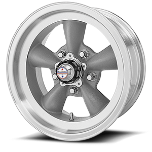 American Racing Custom Wheels VN105D Torq Thrust D 5 Torq Thrust Gray w/ Machined Lip