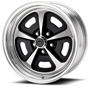 American Racing Custom Wheels VN500 Custom 500 5 Two-Piece Painted Center w/ Polished Barrel