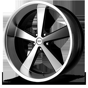 American Racing Custom Wheels VN701 Nova 5 Gloss Black Machined