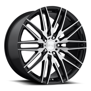 Niche Sport Series Anzio - M165 5 Gloss Black & Brushed 22x10.5