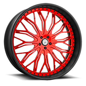 Asanti Forged Wheels A/F Series AF866 5 Red