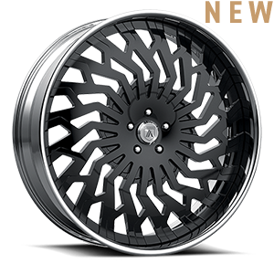 Asanti Forged Wheels FS Series FS25 5 Chrome Black