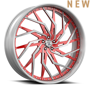 Asanti Forged Wheels FS Series FS30 5 Brushed Red
