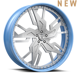 Asanti Forged Wheels FS Series FS35 5 Brushed Blue