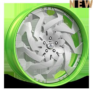 FS39 Green Brushed 5 lug