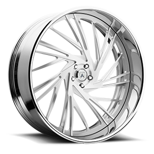 Asanti Forged Wheels A/F Series AF868 5 Brushed
