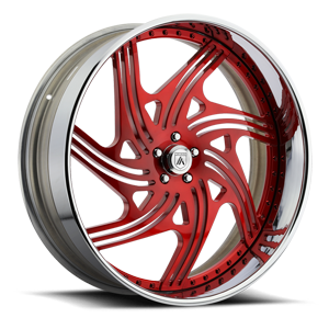 Asanti Forged Wheels A/F Series AF859 5 Red