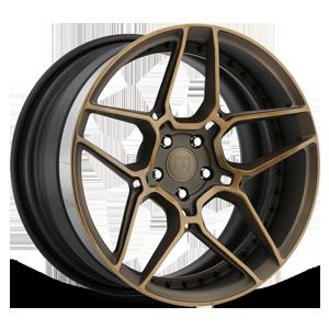 Asanti Forged Wheels DuoBlock Series DB512 5 Bronze