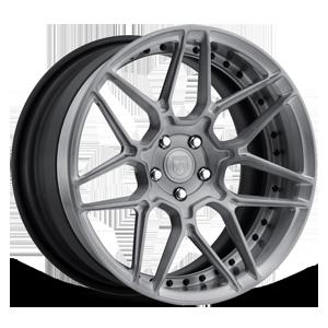 Asanti Forged Wheels DuoBlock Series DB513 5 Machined Grey