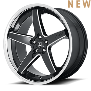 ABL-31 Gloss Black Milled 5 lug