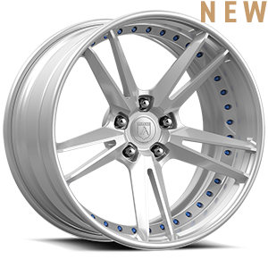 DB515 Brushed Blue 5 lug