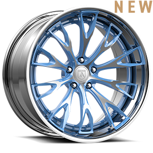 TL106 Blue Brushed 5 lug