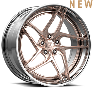 TL107 Rose Gold 5 lug