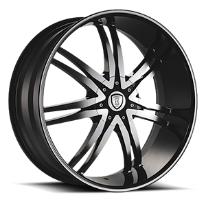 Borghini Wheels BW B14/M 5 Black Machined
