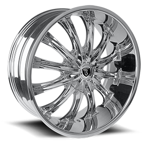 Borghini Wheels BW B15 5 Chrome