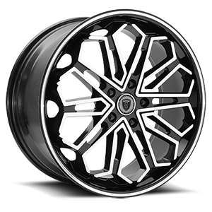 Borghini Wheels BW 17 5 Black Machined