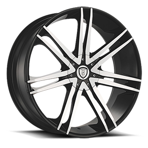 Borghini Wheels BW 20 5 Black Machined