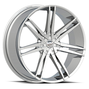 Borghini Wheels BW 20 5 Chrome