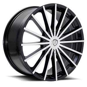 Borghini Wheels BW 22 5 Black Machined