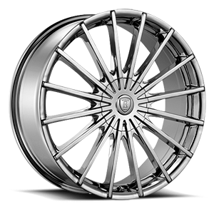 Borghini Wheels BW 22 5 Chrome