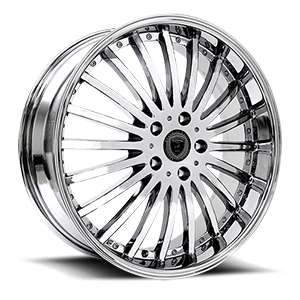 Borghini Wheels BW 23 5 Chrome