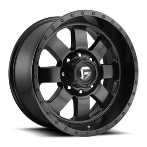 Fuel 1-Piece Wheels Baja - D626 5 Matte Black