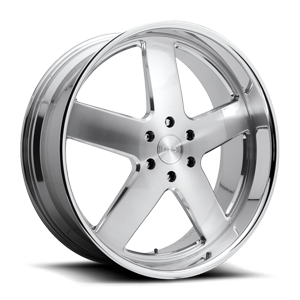 Baller - X84 Brushed w/ Polished Lip 6 lug