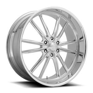 Bastille 6 - Precision Series Brushed w/ Polish 6 lug