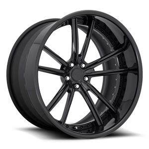 Niche Forged Bastille 5 Gloss Black