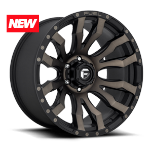 Blitz - D674 Matte Black/Machined/DDT 6 lug