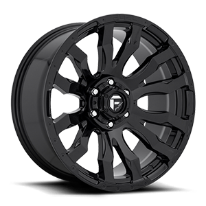 Fuel 1-Piece Wheels Blitz - D675 6 Gloss Black