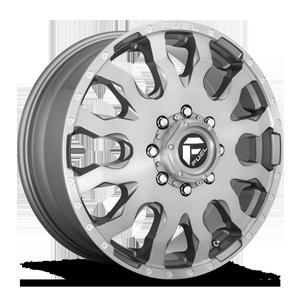 Blitz Dually Front - D693 Platinum 8 lug