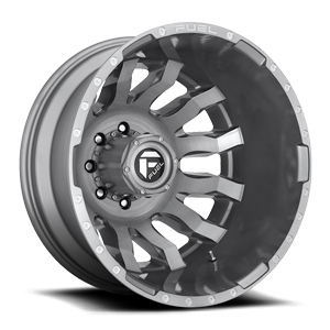 Fuel Dually Wheels Blitz Dually Rear - D693 8 Platinum