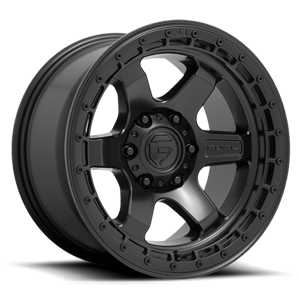 BLOCK - D750 Satin Black 6 lug