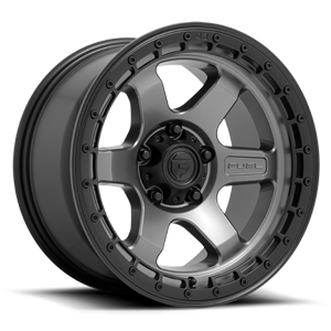 BLOCK - D752 Matte Anthracite w/ Black Ring 5 lug