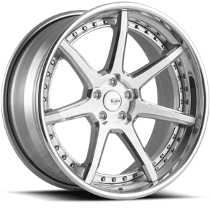 Savini Black Di Forza BM10-L 5 Brushed and Polished