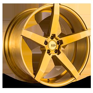 Savini Black Di Forza BM11 5 Brushed Gold
