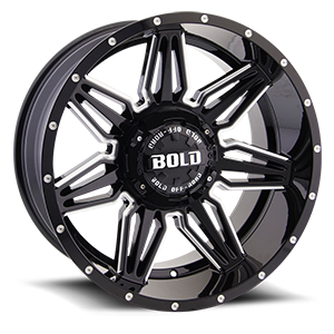 Bold BD001 5 Gloss Black Milled
