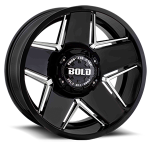 Bold BD004 6 Gloss Black Milled