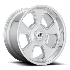 BLVD - U126 Chrome 5 lug