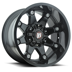 Ballistic Off Road 581 Beast 8 Gloss Black