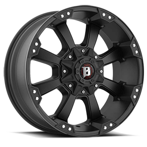 Ballistic Off Road 845 Morax 5 Flat Black