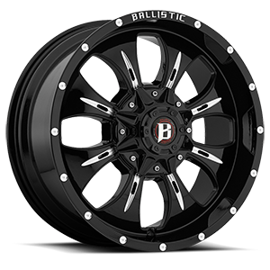 Ballistic Off Road 951 Dagger 6 Gloss Black