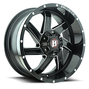 Ballistic Off Road 961 Guillotine 6 Gloss Black