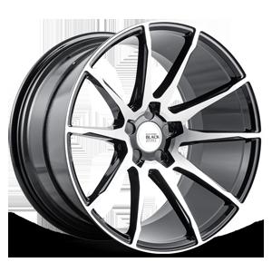 Savini Black Di Forza BM12 5 Machined Black