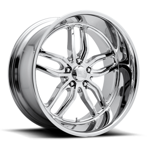 C-Ten - U127 Chrome 5 lug