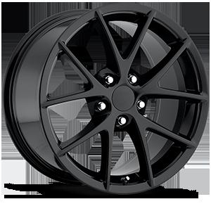 Style 18 Gloss Black 5 lug