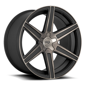 Carina - M236 Matte Black/Machined/DDT 5 lug