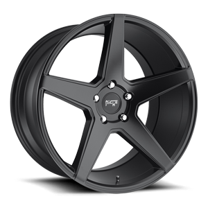 Carini - M185 Satin Black 5 lug